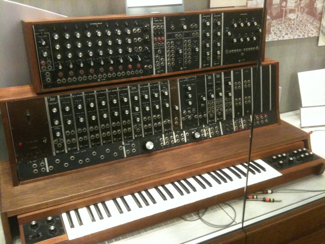 The first Moog Synthesizer, 1964