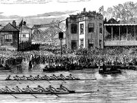 The long tradition of the Annual Boat Race of Oxford and Cambridge