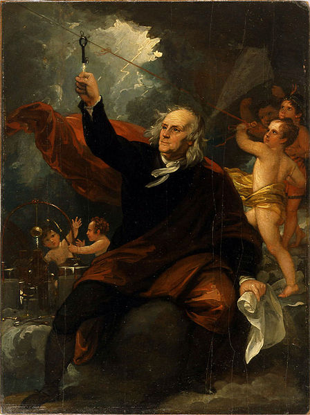 Benjamin Franklin And The Invention Of Lightning Rod