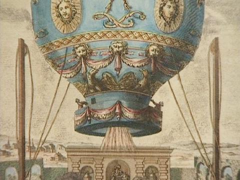 The famous Montgolfier-Balloon
