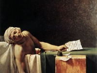 Murder in the Bathtub – Jean Paul Marat and Charlotte Corday
