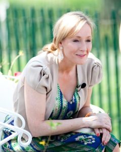 J. K. Rowling reading Harry Potter at the White House in 2010 @Daniel Ogren, CC-BY-2.0
