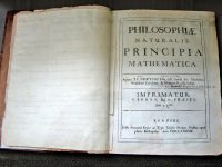 Sir Isaac Newton and the famous Principia