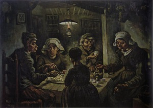 Van Gogh: The Potato Eaters, 1885