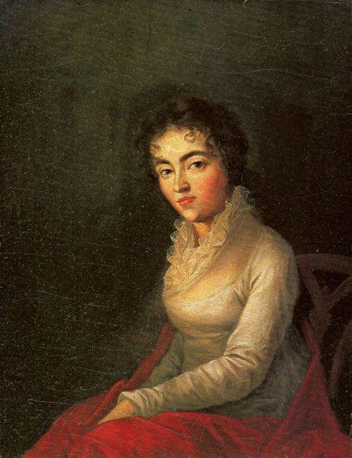 Portrait of Constanze Mozart (1762-1842)