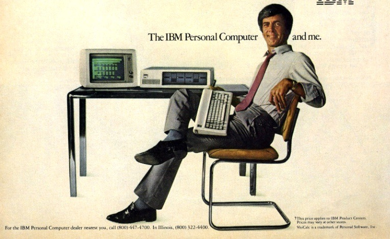 "'The IBM Personal Computer and me"", vintage IBM advertisement (1980s)"