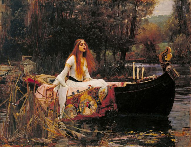 John William Waterhouse: The Lady of Shalott (1888)