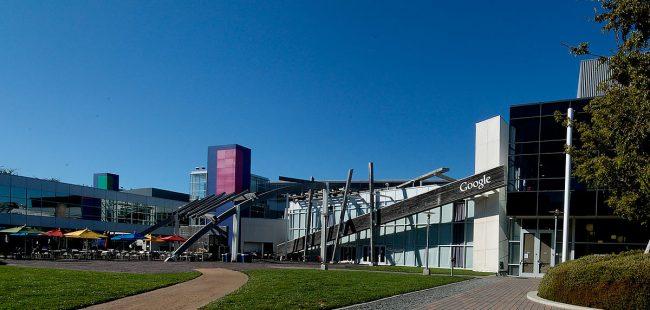 Googleplex courtyard. Image: Sebastian Bergmann