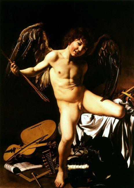 Caravaggio: Amor Vincit Omnia (1601/1602)