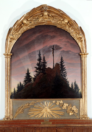 Tetschen Altar (Cross in the Mountains) (Caspar David Friedrich)