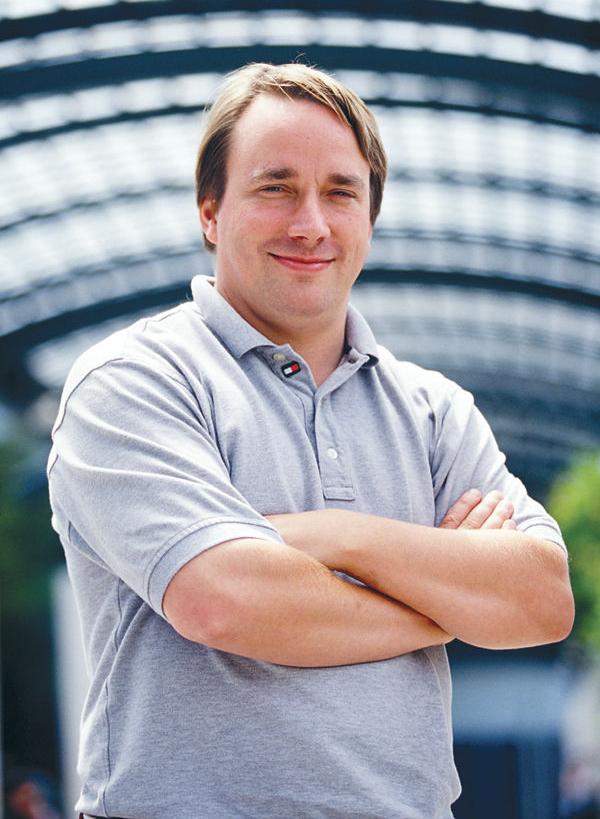 Linus Torvalds. Image: Linuxmag.com