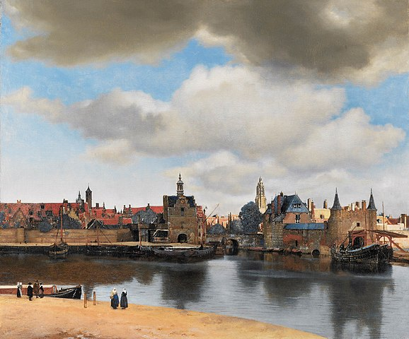 Johannes Vermeer, View of Delft