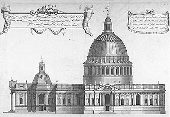 Christopher Wren's First Cathedral Design