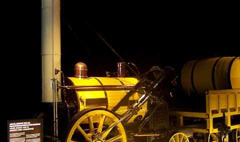 Stephenson's Rocket wins the Rainhill Trials