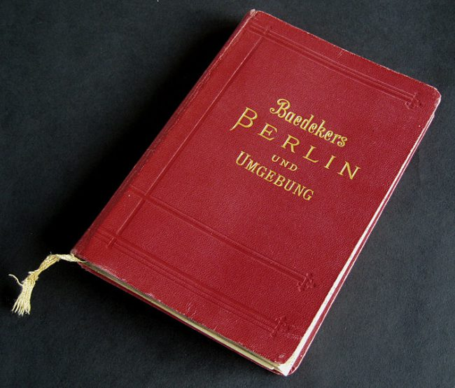 Baedeker's Berlin Travel Guide. Phptp by Manfred Heyde