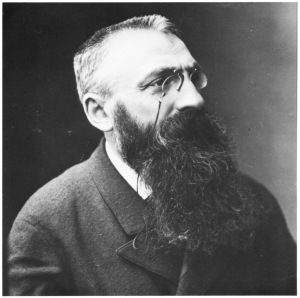 Auguste Rodin (1840 - 1917) Photo by Félix Nadar