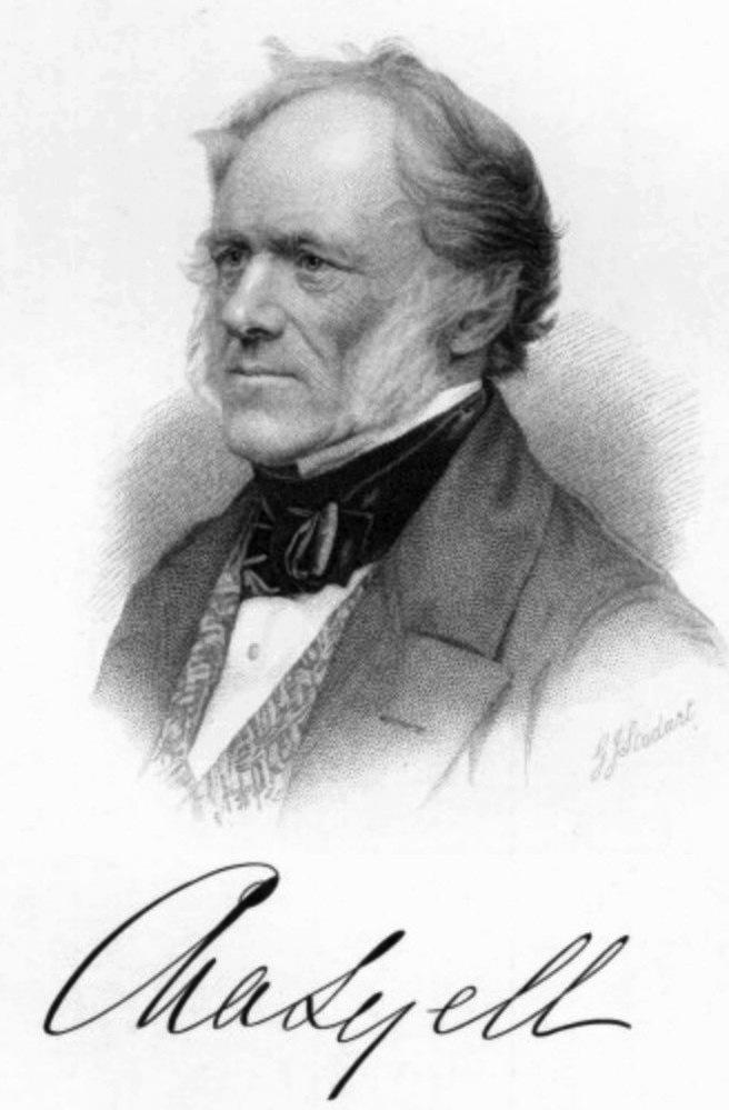Charles Lyell (1797 - 1875)
