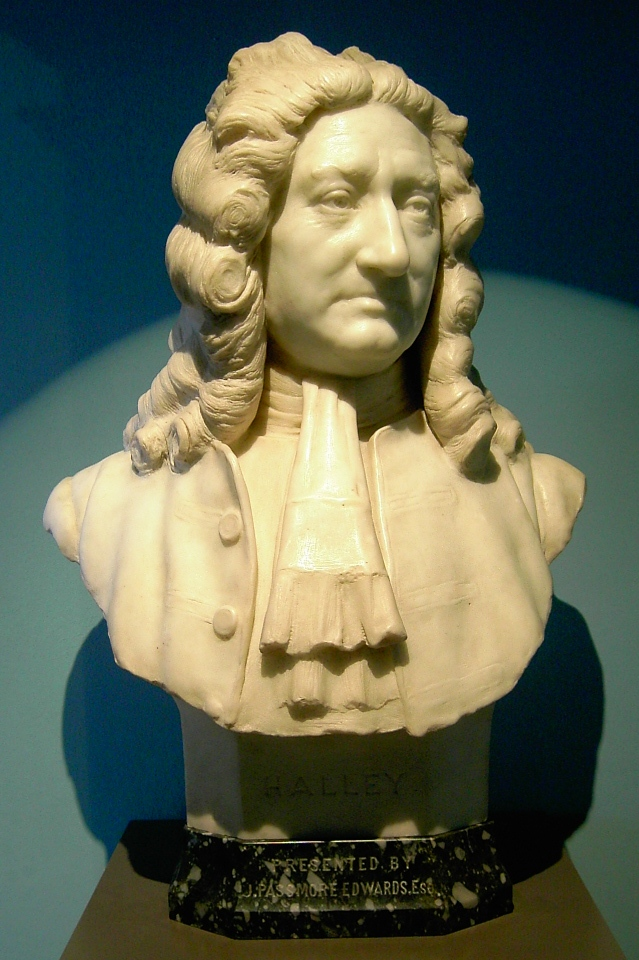 Sir Edmond Halley (1656-1742) ©Klaus-Dieter Keller