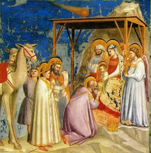 The Adoration of the Magi (circa 1305) by Giotto