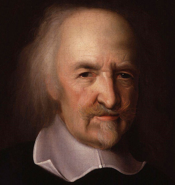 Thomas Hobbes (1588-1679), Portrait by John Michael Wright
