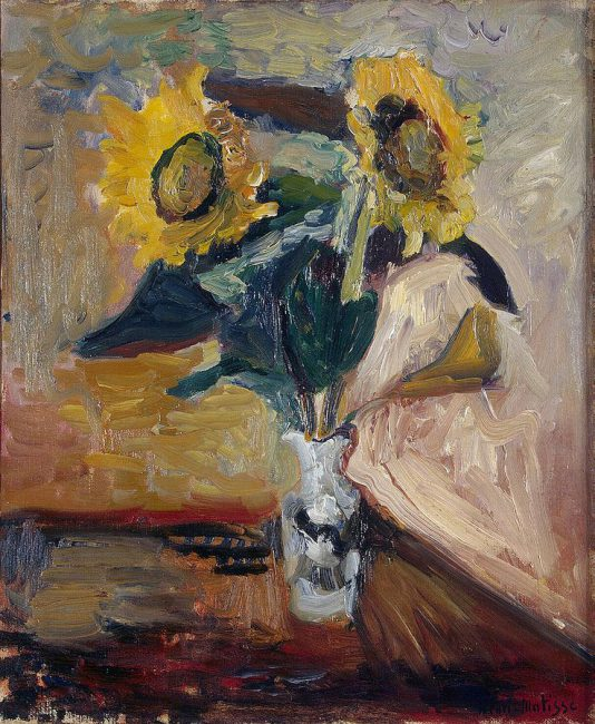 Vase of Sunflowers (1898), Hermitage Museum, St. Petersburg, Russia