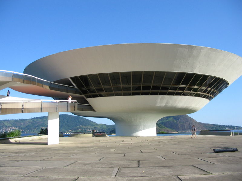 Niterói Contemporary Art Museum - desinged by Oscar Niemeyer