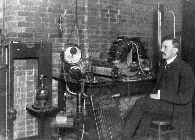 Ernest Rutherford at McGill, 1905