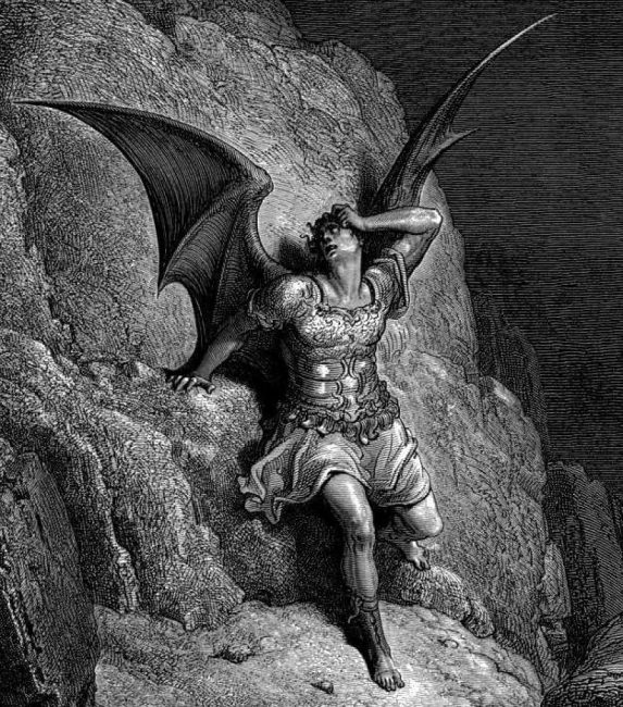 Illustration by Gustave Doré for John Milton's Paradise Lost