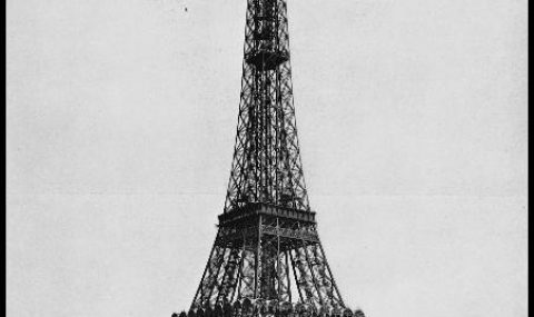 Gustav Eiffel and his famous Tower