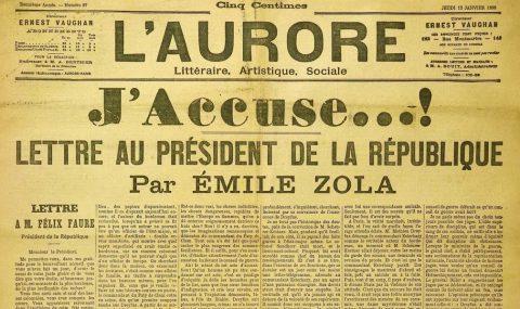 J'Accuse – Émile Zola and the Dreyfus Affaire