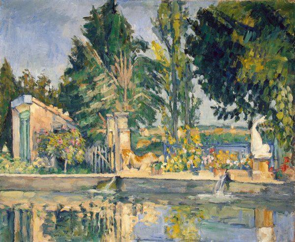 Paul Cézanne: Jas de Bouffan, 1876