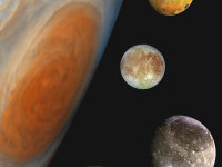The Discovery of the Four Galilean Moons