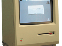 The Macintosh 128K making history with George Orwell