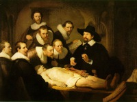 Rembrandt and The Anatomy of Dr. Tulb