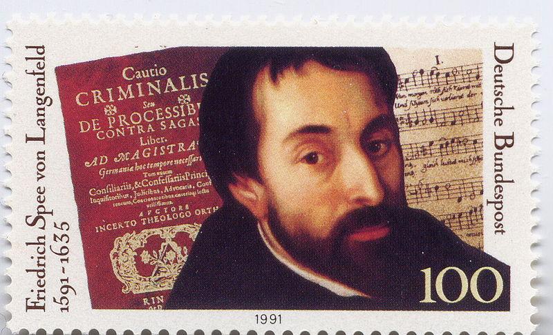 Friedrich Spee (1591-1635) 800px-Friedrich_Spee_von_Langenfeld_Briefmarke_zum_400._Geburtstag3