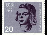 Somebody, after all, had to make a Start – Sophie Scholl and the White Rose