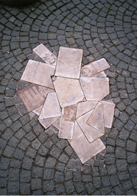 "Monument to Hans and Sophie Scholl and the ""White Rose"". Image author: Wikimedia user Gryffindor"