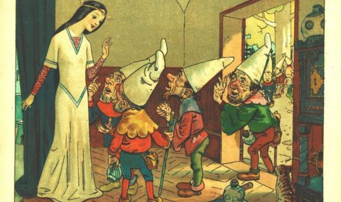 Snow White and the Seven Cel Animated Dwarfs