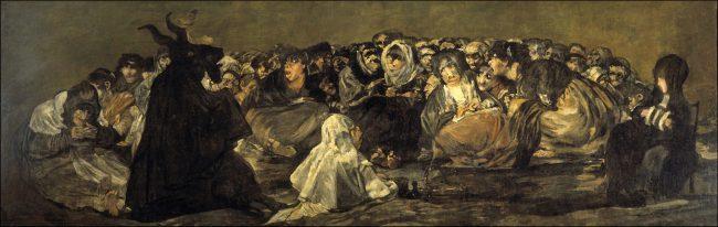 El Gran Cabrón/Aquelarre), Witches' Sabbath, 1819–1823