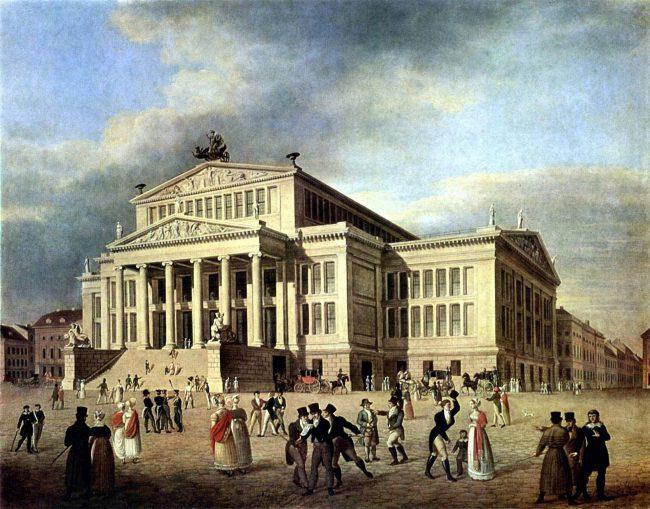 Schauspielhaus Berlin, 1825
