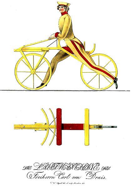 Karl Drais' Laufmaschine