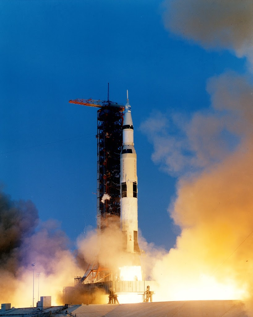 Apollo 13 Liftoff, April 11, 1970