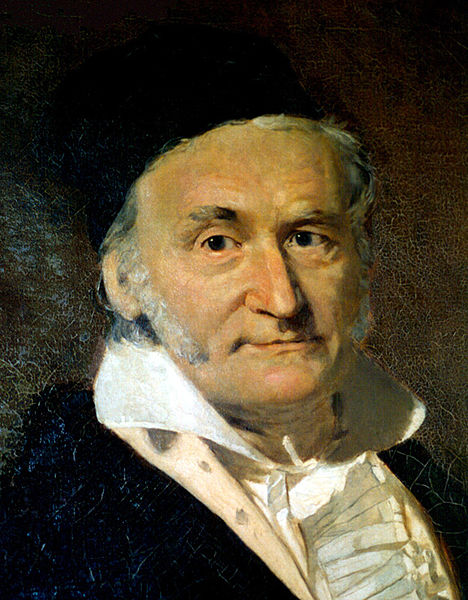 carl friedrich gauss contribution to physics