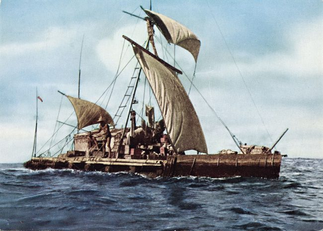 Expedition Kon-Tiki 1947. Across the Pacific.