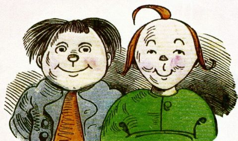 Max and Moritz as Role Model for The Katzenjammer Kids