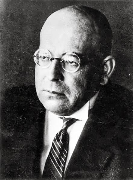 Oswald Spengler (1880 - 1936) Image: Bundesarchiv