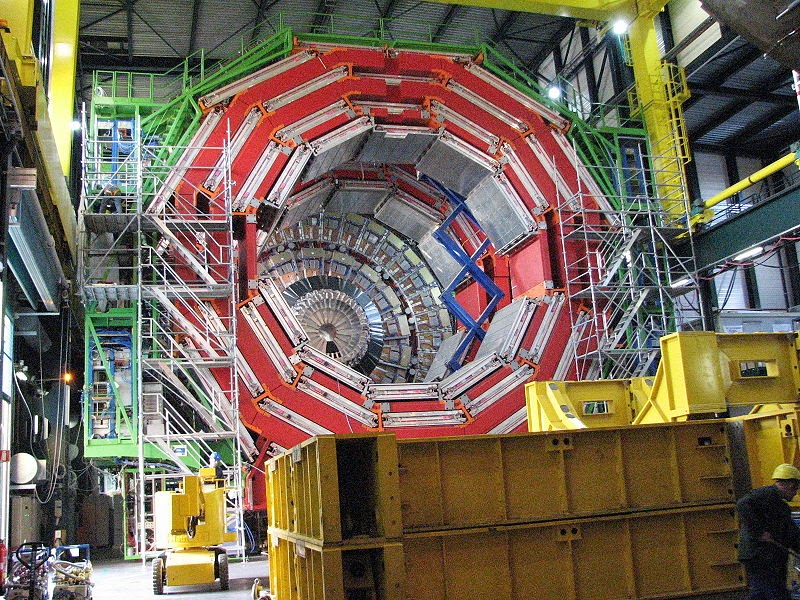 "The CMS Detector at the LHC Image: <a href=""http://flickr.com/photos/10860006@N03"" rel=""nofollow"">Muriel</a>"