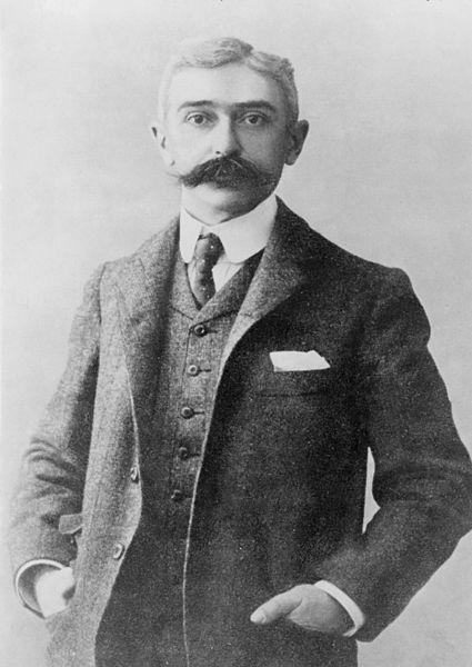 Baron Pierre de Coubertin (1863-1937)