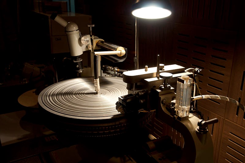 Neumann Record Cutting Machine