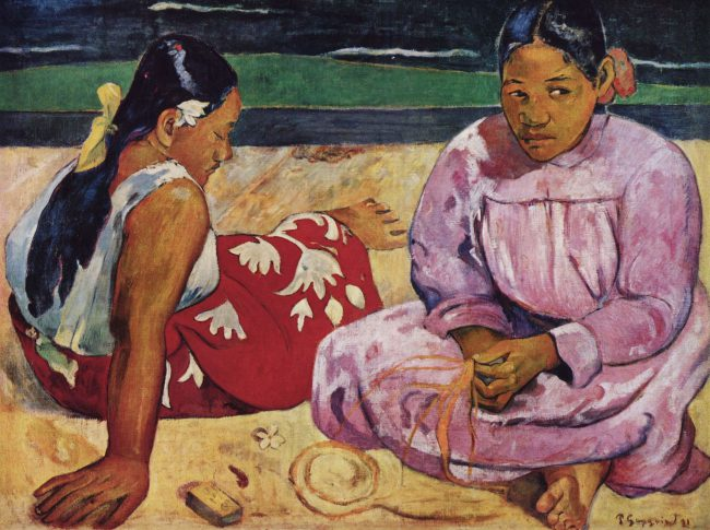 Paul Gauguin, Women on the Beach (1891)